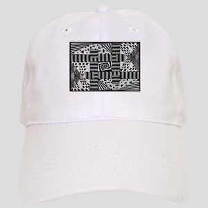 Black & White Weaving Baseball Cap