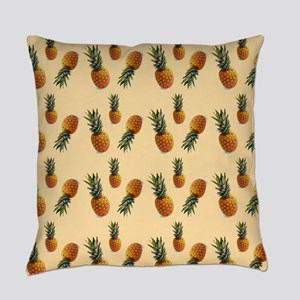cute pineapple pattern Everyday Pillow