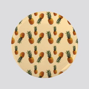 cute pineapple pattern Button