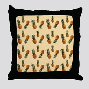 cute pineapple pattern Throw Pillow