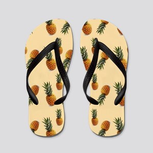 cute pineapple pattern Flip Flops