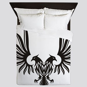 Eagle with two heads Queen Duvet