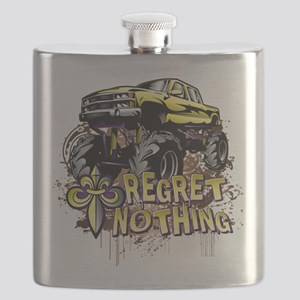 Regret Nothing Mud Truck Flask