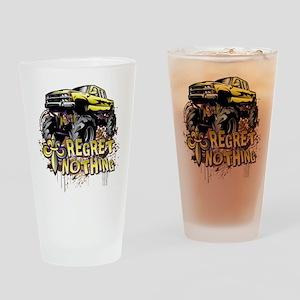 Regret Nothing Mud Truck Drinking Glass