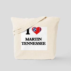 I love Martin Tennessee Tote Bag