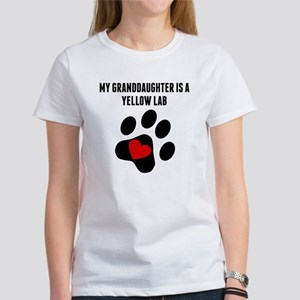 My Granddaughter Is A Yellow Lab T-Shirt