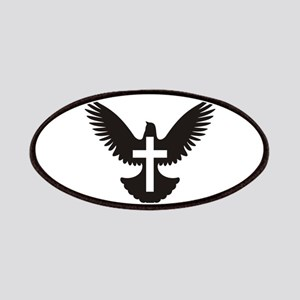 Dove with cross Patch
