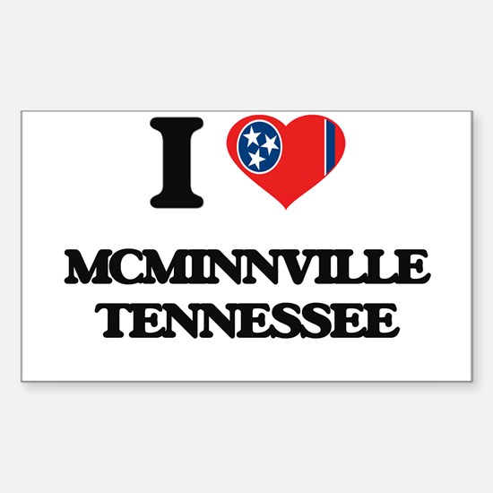 I love Mcminnville Tennessee Decal