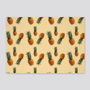 cute pineapple pattern 5'x7'Area Rug
