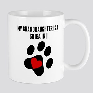 My Granddaughter Is A Shiba Inu Mugs