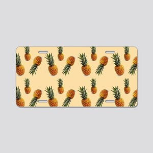 cute pineapple pattern Aluminum License Plate