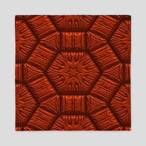 Intriguing Shimmering Star Pattern,red Queen Duvet