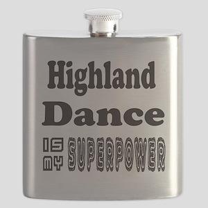 Highland Dance Is My SuperPower Flask