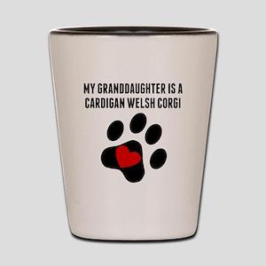 My Granddaughter Is A Cardigan Welsh Corgi Shot Gl