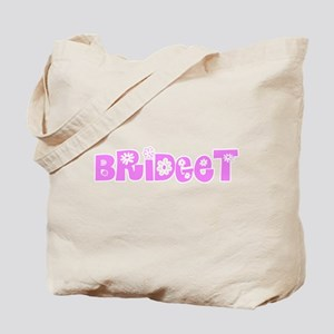 Bridget Flower Design Tote Bag