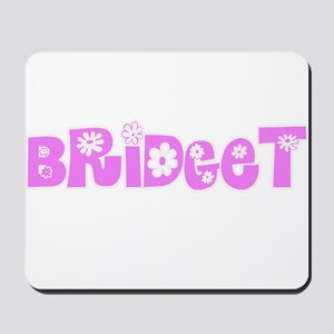 Bridget Flower Design Mousepad
