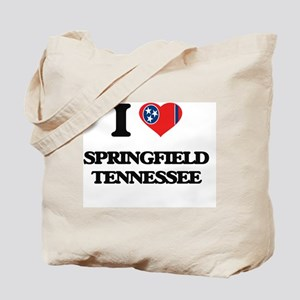 I love Springfield Tennessee Tote Bag