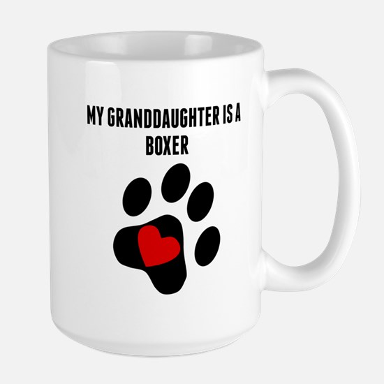 My Granddaughter Is A Boxer Mugs