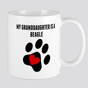 My Granddaughter Is A Beagle Mugs