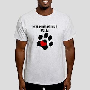 My Granddaughter Is A Basenji T-Shirt
