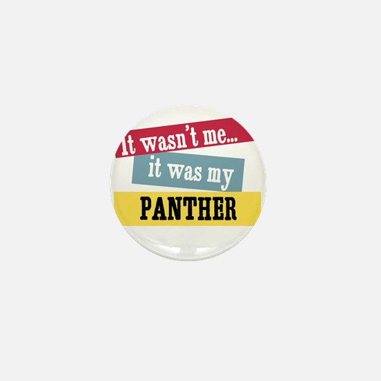 Panther Mini Button