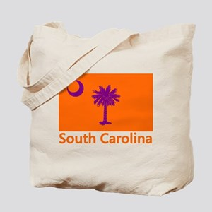 Clemson Flag Tote Bag