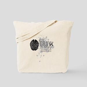 Go Grey in May Tote Bag