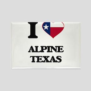 I love Alpine Texas Magnets