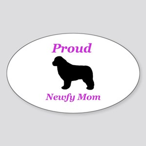 Proud Newfy Mom Sticker