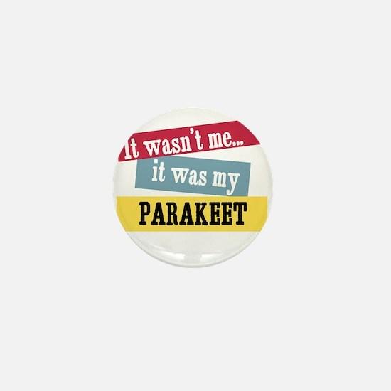 Parakeet Mini Button