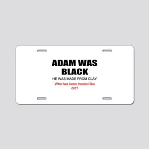 Funny African American Aluminum License Plate
