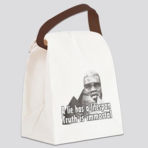 Black History truth Canvas Lunch Bag