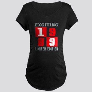 Exciting 1989 Limited Editi Maternity Dark T-Shirt