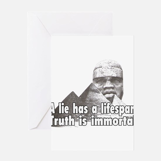 Black History truth Greeting Cards