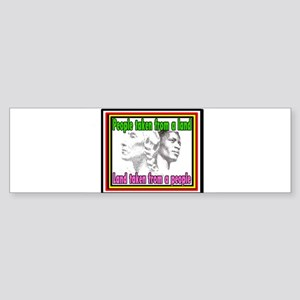 Black American Native American Bumper Sticker