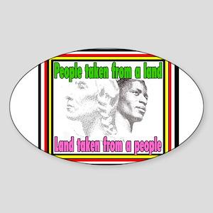 Black American Native American Sticker