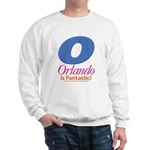 Orlando Is Fantastic Sweatshirt (white)