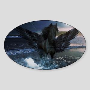 Dark Horse Fantasy Sticker (Oval)