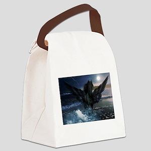 Dark Horse Fantasy Canvas Lunch Bag