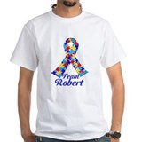 Autism awareness Mens Classic White T-Shirts
