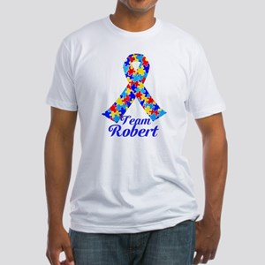 Custom Autism Fitted T-Shirt