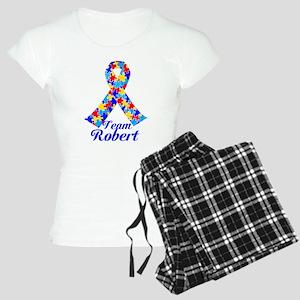 Custom Autism Women's Light Pajamas