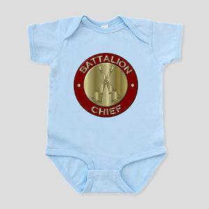 battalion chief brass fire department Body Suit