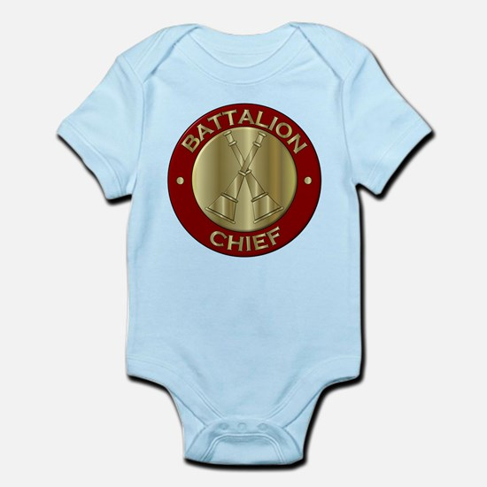 battalion chief brass fire department Body Suit