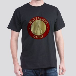 battalion chief brass fire department T-Shirt