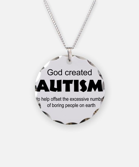 Autism offsets boredom Necklace