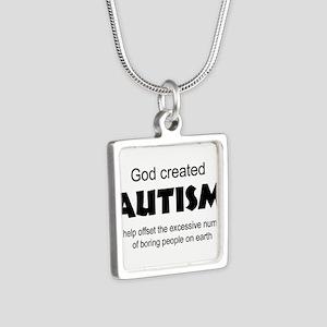 Autism offsets boredom Necklaces