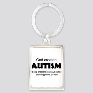 Autism offsets boredom Keychains