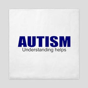 Autism needs understanding Queen Duvet