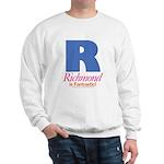 Richmond Is Fantastic Sweatshirt (white)